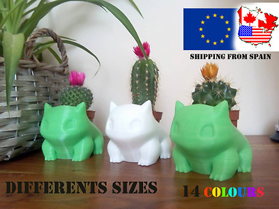 Pokemon Bulbasaur Planter. Macetero/Bulbizarre/Bisasam, Pot, cute