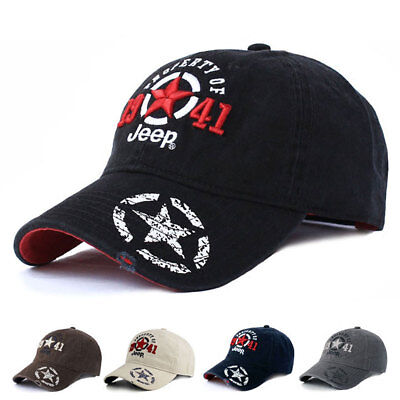 Jeep Men Women Hat Baseball Hat Golf Ball Sport Casual Sunproof Cap  Casquette 1a23f1b33af4