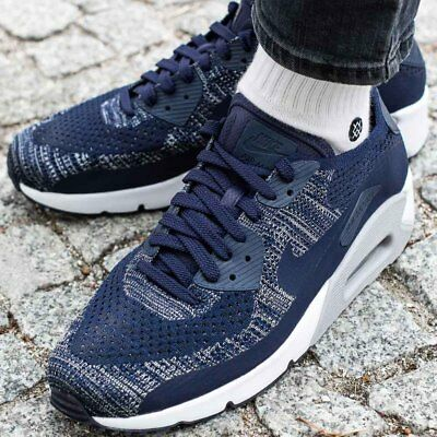 finest selection f293e e7498 NIKE AIR MAX 90 ULTRA 2.0 FLYKNIT sneaker chaussures hommes sport 875943-401