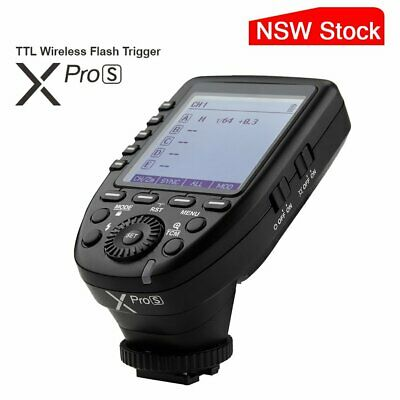 AU Godox XPro-S 2.4G TTL Flash Trigger With Big LCD Screen Transmitter For Sony