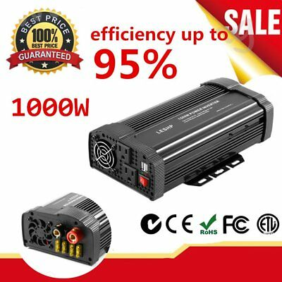 Parts & Accessories 4000w Peak Modified Sine Wave Power Inverter Dc 12v To Ac 220v Car Caravannc Special Buy