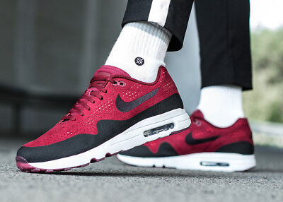 sports shoes a3510 94c9f NIKE AIR MAX 1 ULTRA 2.0 MOIRE sneakers chaussures hommes sport rouge  918189-600