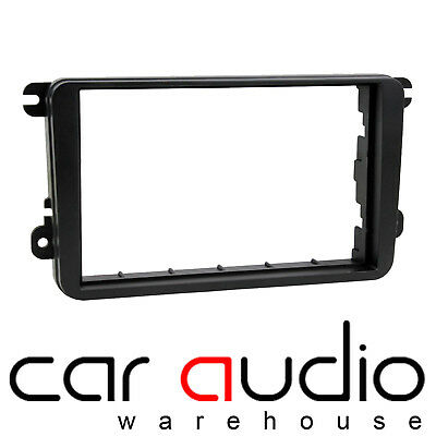 VolksWagen Golf Mk6 2008 - 2012 Car Stereo Radio Double Din Fascia Panel