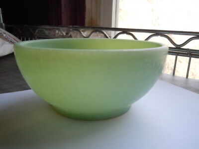 """Vintage Jadeite Fire King Oven Ware  Bowl Small 5"""""""