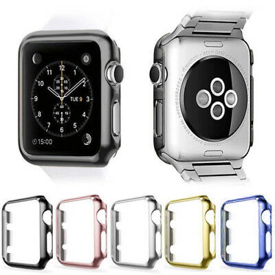 Apple Watch iWatch Series 3 2 1 protector Cover Case Screen Protector 38mm 42mm