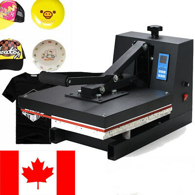 Digital 38*38cm CLAMSHELL HEAT PRESS PAINT T-SHIRT TRANSFER SUBLIMATION MACHINE