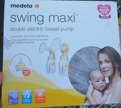NEW - Medela Swing Maxi Double Electric Breast Pump