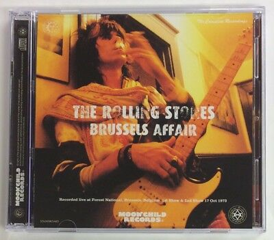 """Rolling Stones """"brussels Affair"""" 1973, 2-Cd, Sbd, Type-A, Moonchild"""