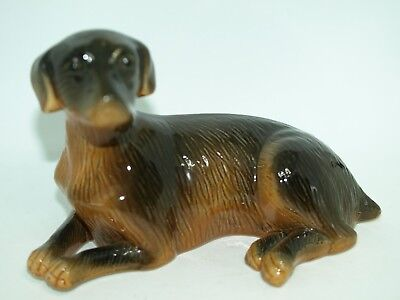 Vintage Ceramic Dog Figurine-1142