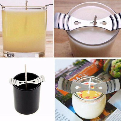 Beeswax Candle Wicks Metal Holder Making Supplies Molds Centering DIY Gift Tools