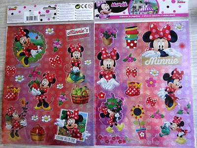 Disney Minni Maus Sticker--Stickers-Minnie Mouse--Aufkleber- Minnie´s Garten (4)