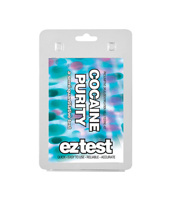 EZ Drug Test for Cocaine Purity to determine the amount of cocaine (1 test)