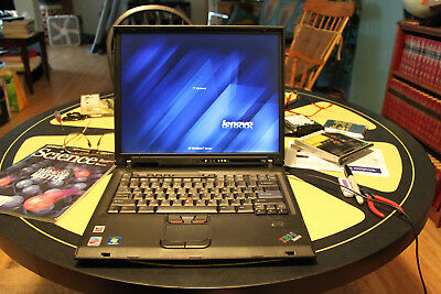 IBM Thinkpad T41p Professional Computer Loaded! 1.80GHz/2GB/160GB/SXGA+ Flawless