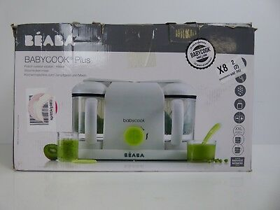 BEABA Babycook Plus Baby Food Maker in Neon USED GOOD CONDITION