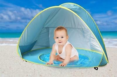 Widesea Baby beach tent uv-protecting sunshelter with a pool waterproof pop up