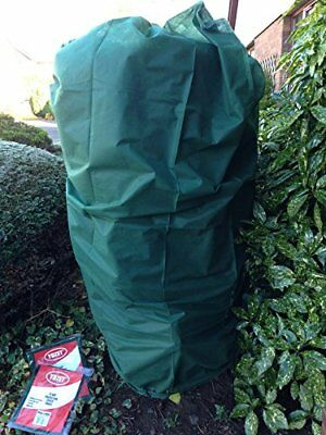 2 Warming Plant FROST PROTECTION Fleece Jacket Garden Cover Med 105x80cm 35gsm