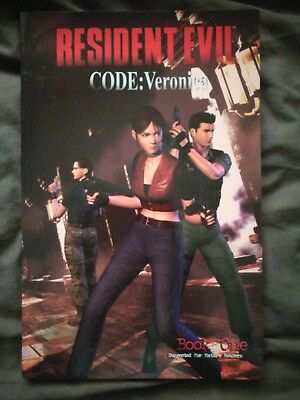 resident evil code Veronica book one