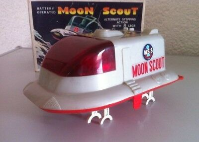 Antique Toy# T.N. Nomura Moon Scout Space Toy Lunar Japan Japanese