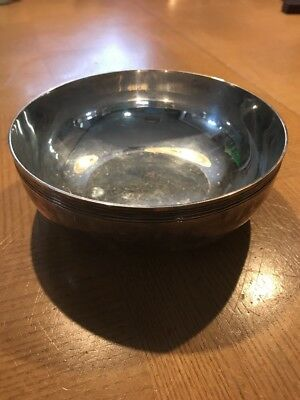 Christofle France Albi Bonbon Candy Mint Silver Serving Bowl 5.5""