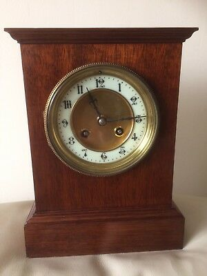 Antique French Mantel Bracket Clock SERVICED