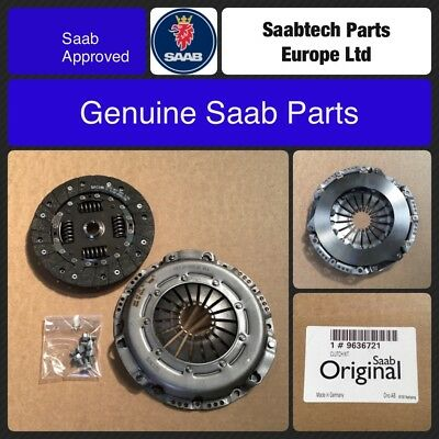 Genuine Saab 9-3 98-02 Viggen Clutch Kit, 2.3T B235R, 9636721
