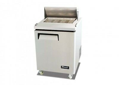Migali C-SP27-12BT Big Top Sandwich Prep Table - One Solid Door