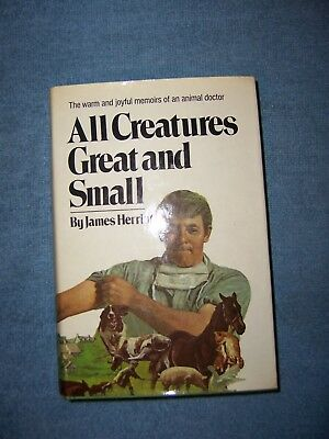 ALL CREATURES GREAT AND SMALL by James Herriot/HCDJ/Autobiography/Medical