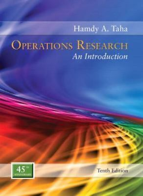 operations research an introduction global edition