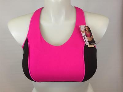 5292f342614bb NWT SPORT BY Cacique Lane Bryant Racer Back Sports Bra Wire Free Sz ...
