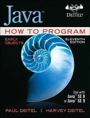 Java How to Program, Early Objects 11th Global Edition