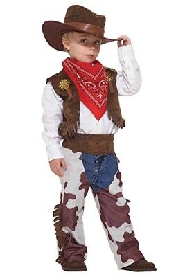 Childs Cowboy Halloween Boys Costume Small 4-6 Blowout Sale
