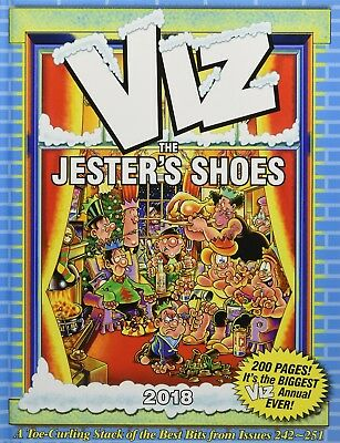 Viz: The Jester's Shoes Annual 2018 - It's the BIGGEST Viz Annual Ever!