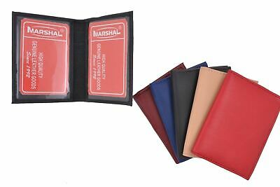 Slim Thin Leather Credit Card ID Mini Wallet Holder Bifold Driver's License Safe