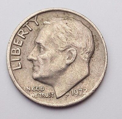 Dated : 1972 - USA - Roosevelt - One Dime - Coin - United States of America