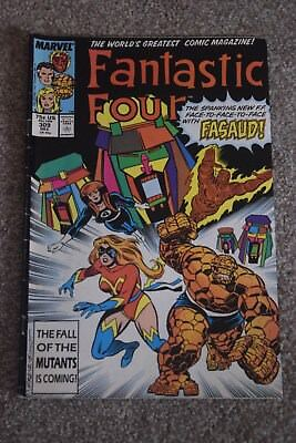 MARVEL COMIC FANTASTIC FOUR NO 309 Dec 1987  75c USA