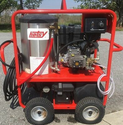 Used Hotsy 1060SSE Hot Water Gas / Diesel 3.5GPM @ 3500PSI Pressure Washer