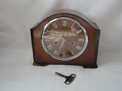Smiths Enfield Mantel Clock with Key