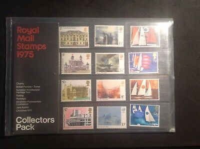1975 Collectors Year Pack GB Mint Royal Mail Stamps Unhinged FREE POSTAGE