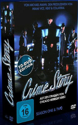 Crime Story - Series 1 & 2 NEW PAL Cult 10-DVD Set Dennis Farina Tony Denison