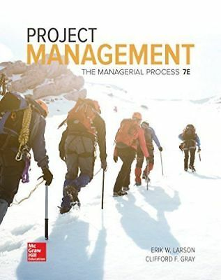 Project Management: The Managerial Process 7e Global Edition