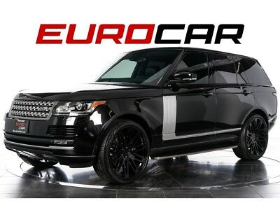 Range Rover Supercharged 2015 Land Rover Range Rover Supercharged - REAR SEAT ENTERTAINMENT, CUSTOM WHEEL