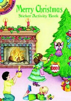 Merry Christmas Decorate Cozy Room Activity Sticker Book