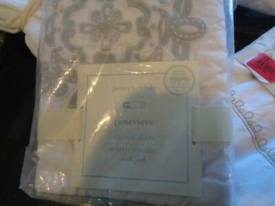 Pottery Barn Kids Genevieve crib small sham New with tags