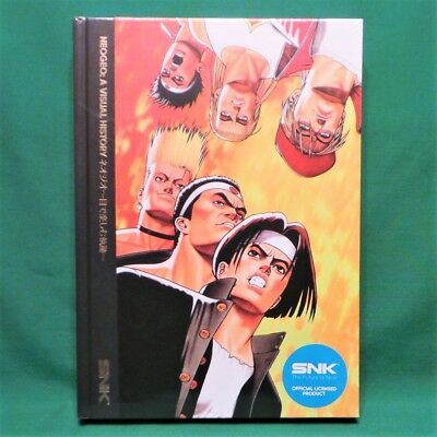 NEOGEO: A Visual History Officially Licensed SNK Neo Geo Hardcover Art Book