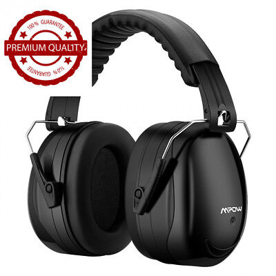 Mpow Ear Defenders, Fits Adults and Kids, 34dB SNR Comfortable Safety Muffs...