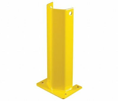 """3 STEEL KING FPS3-4D018YW Pallet Rack Protector 8"""" W x 8"""" L x 18"""" H Yellow"""