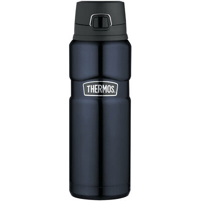 Thermos Stainless King, Vacuum Insulated Drink Bottle - Midnight Blue - 24 oz.