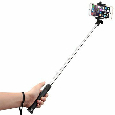 Mpow Extendable iSnap Wireless Bluetooth Pocket Selfie Stick For iPhone Samsung