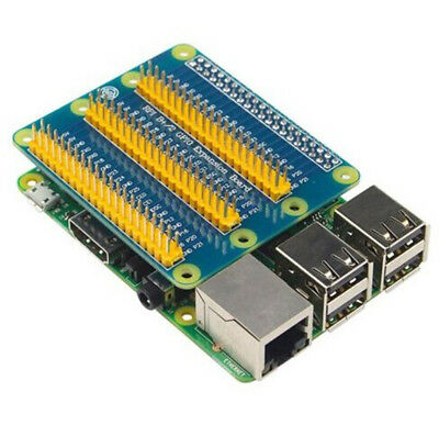 GPIO Expansion Board for Raspberry PI 2/3/B/B+  with mounting screws pack