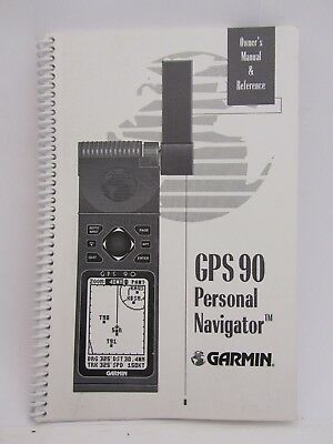 Garmin GPS90 Handheld GPS Owners Manual & Reference P/N 190-00084-00